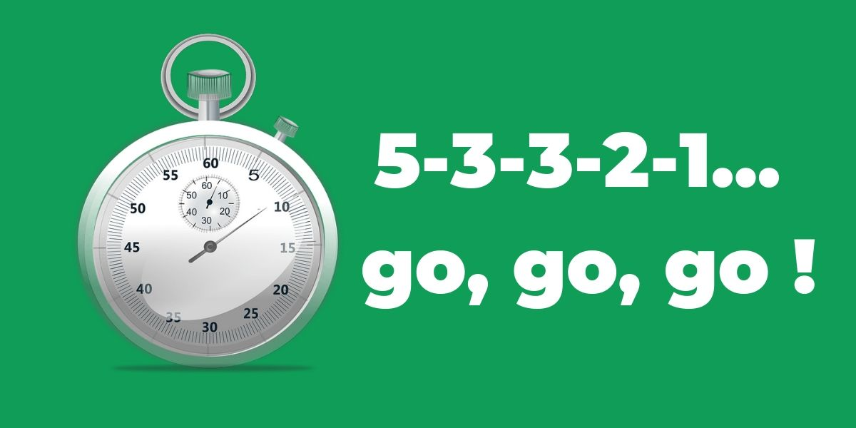 La règle des 5 secondes pour vaincre la procrastination