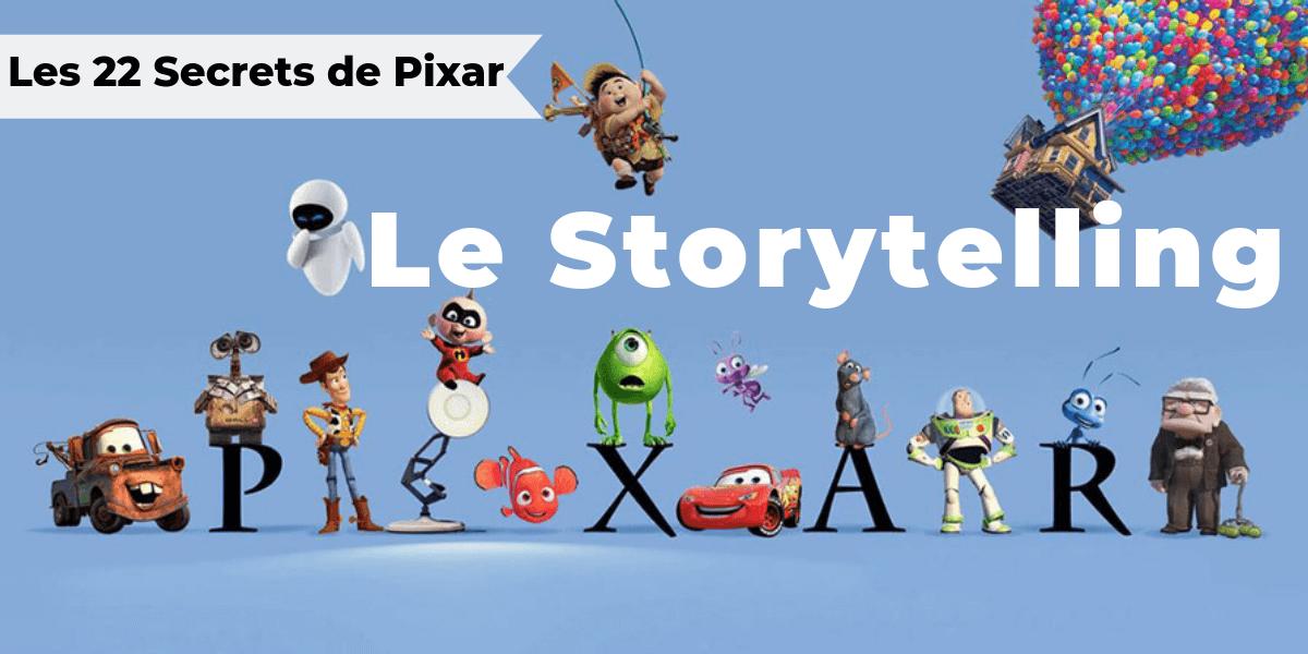 22 règles de storytelling selon Pixar