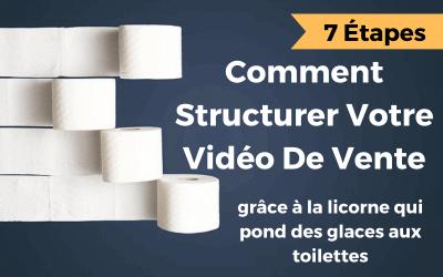 Comment créer une vidéo de vente grâce à la licorne qui pond des glaces