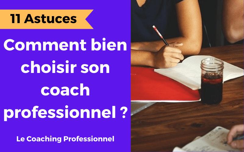 le coaching professionnel c'est quoi